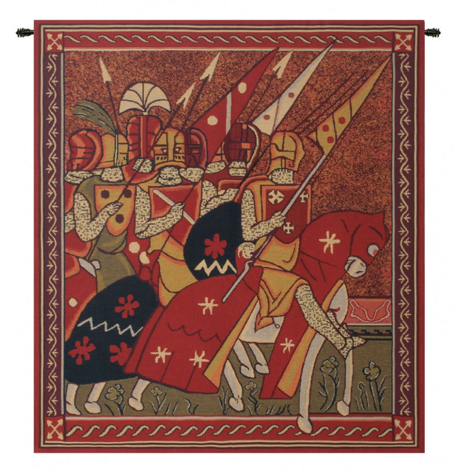 Red Godfrey of Bouillon Wall Decor