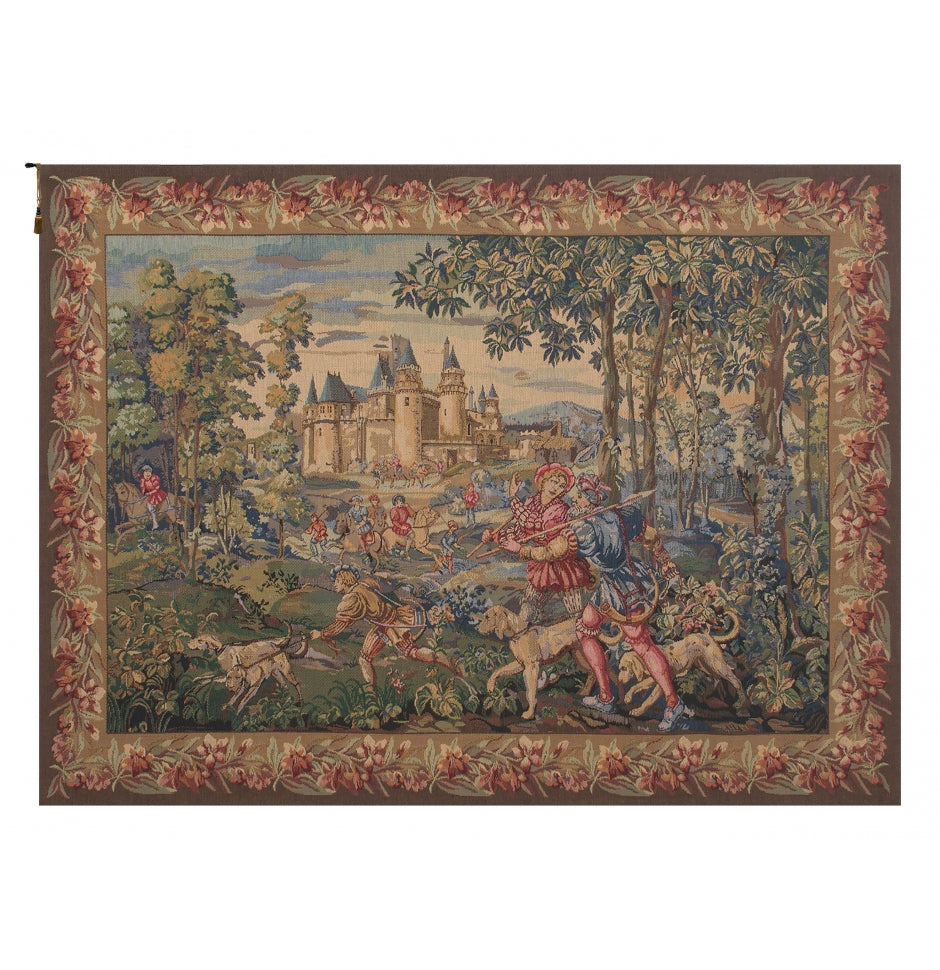 Cream La Chasse Wall Hanging Decor