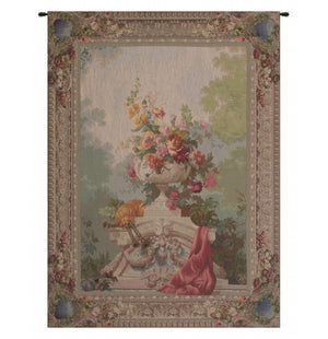 Bouquet Cornemuse French Decor Wall Tapestry