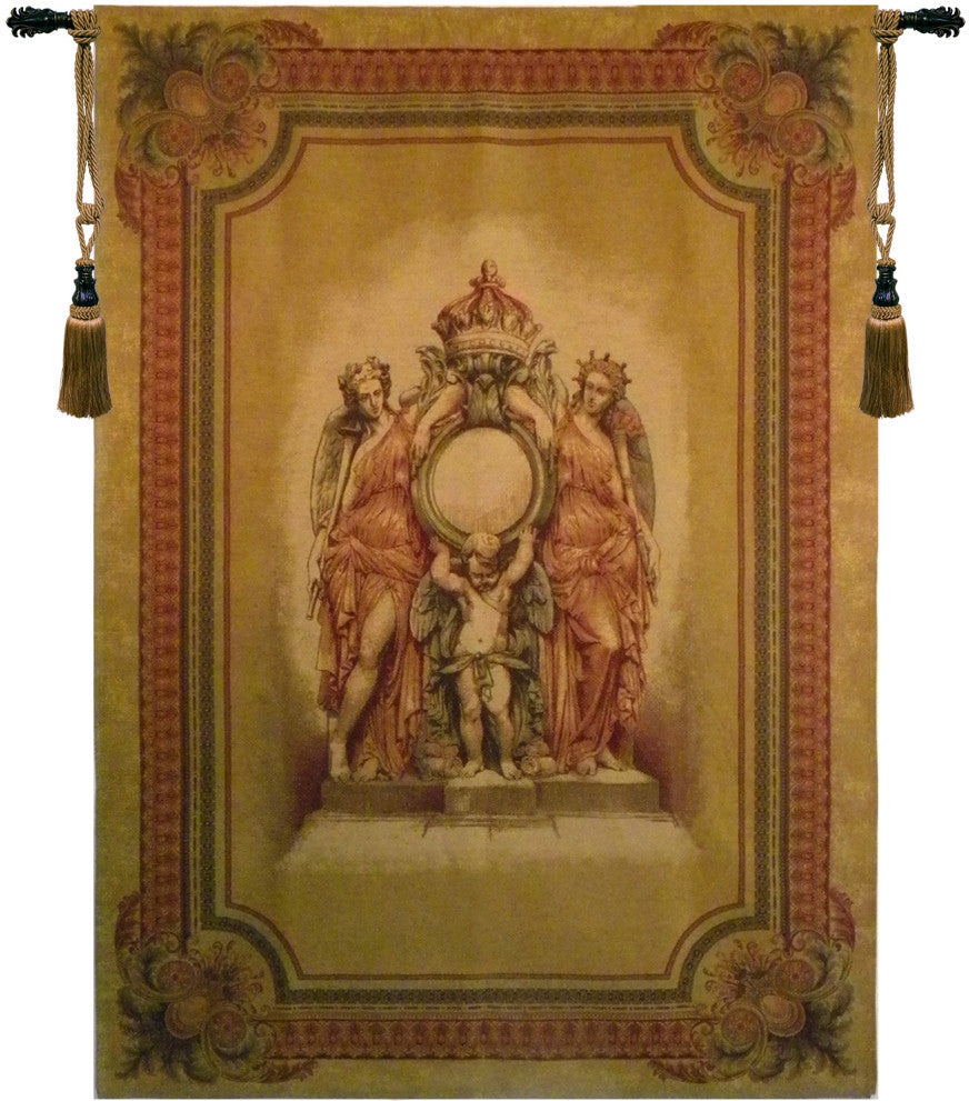 Guardians of the Crown Belgian Wall Hanging Tapestry