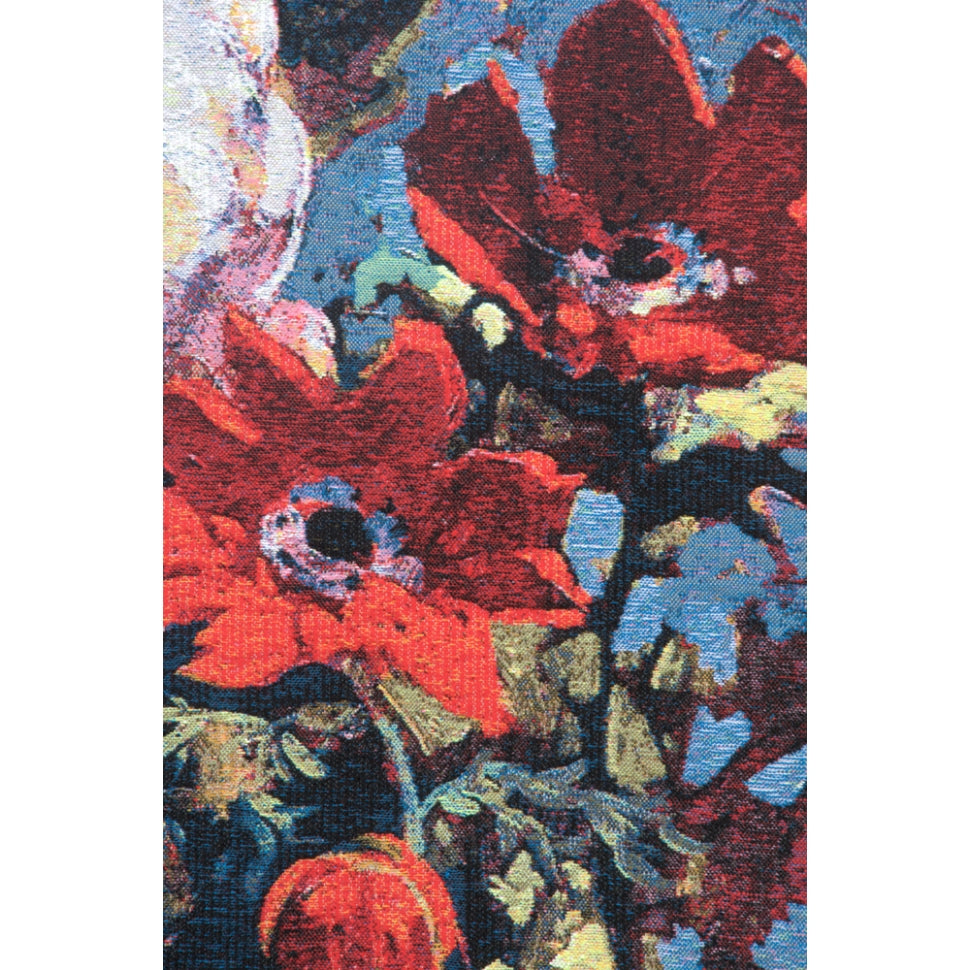 Floral Wall Hanging Woven in Cotton