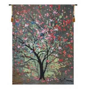 Hopefull Tree by Simon Bull European Hanging Wall Tapestry
