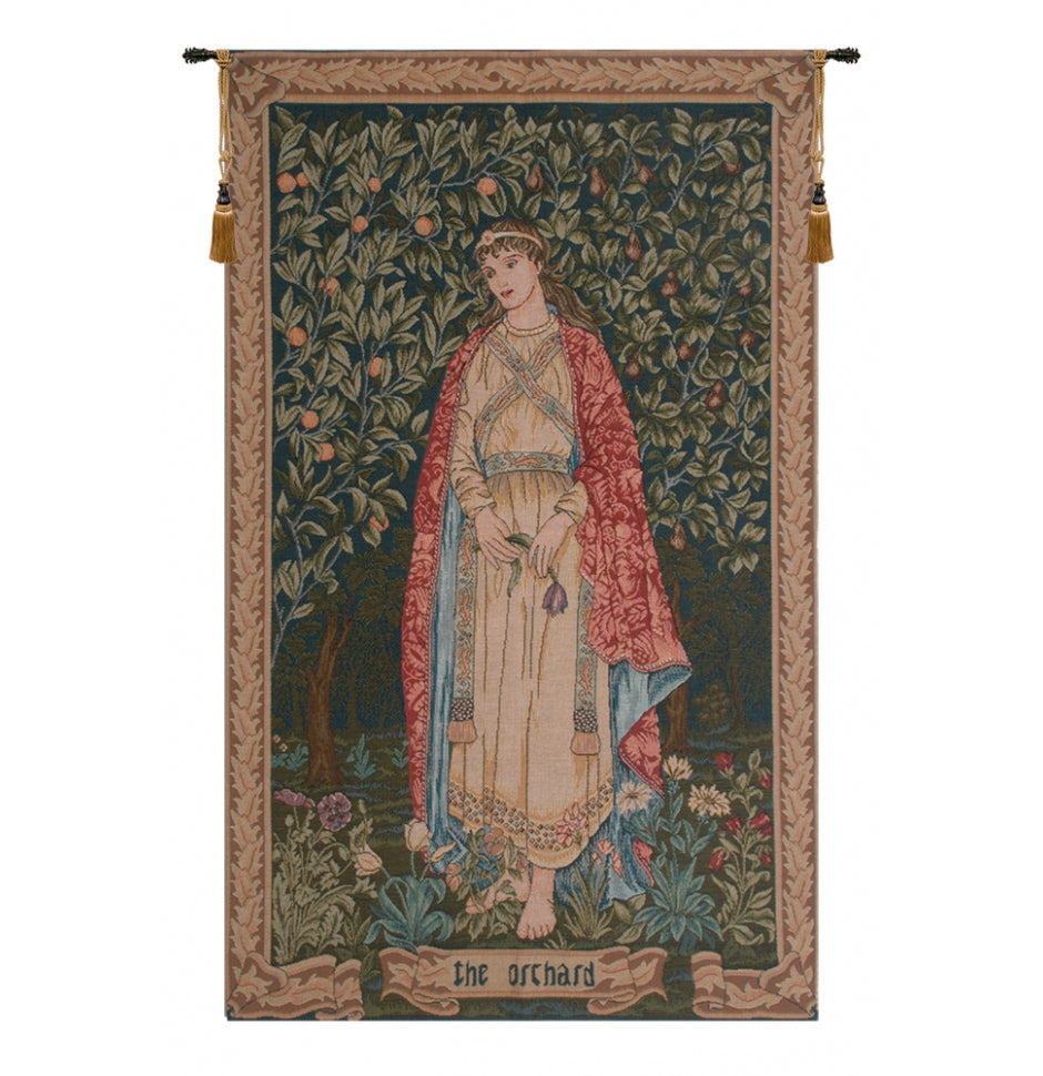 Orchard by William Morris French Decor Wall Tapestry