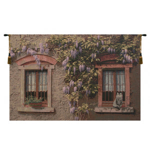 Windows with Wisteria Italian Wall Decor