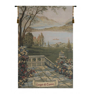 Lake Como 1 Decor Wall Tapestry