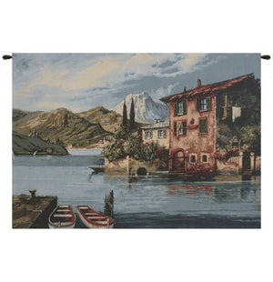 Lake Como II Decor Wall Tapestry