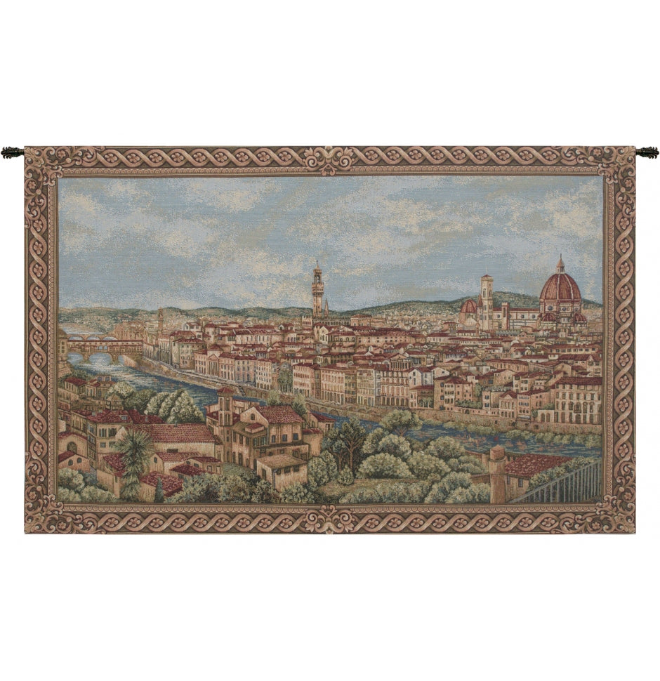 Green Florence Decor Wall Tapestry