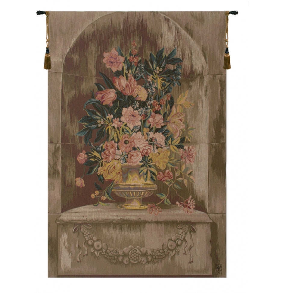 Bouquet Niche Tapestry Woven Wall Hanging