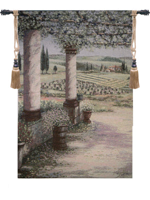 Il Trebbio West II Fine Art Decor Wall Tapestry