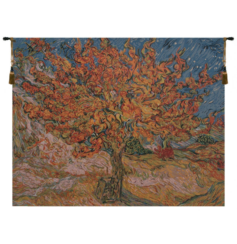 The Mulberry Tree Van Gogh Wall Decor Tapestry