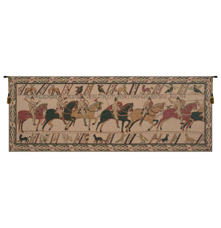 Bayeux William Troops Woven Wall Tapestry