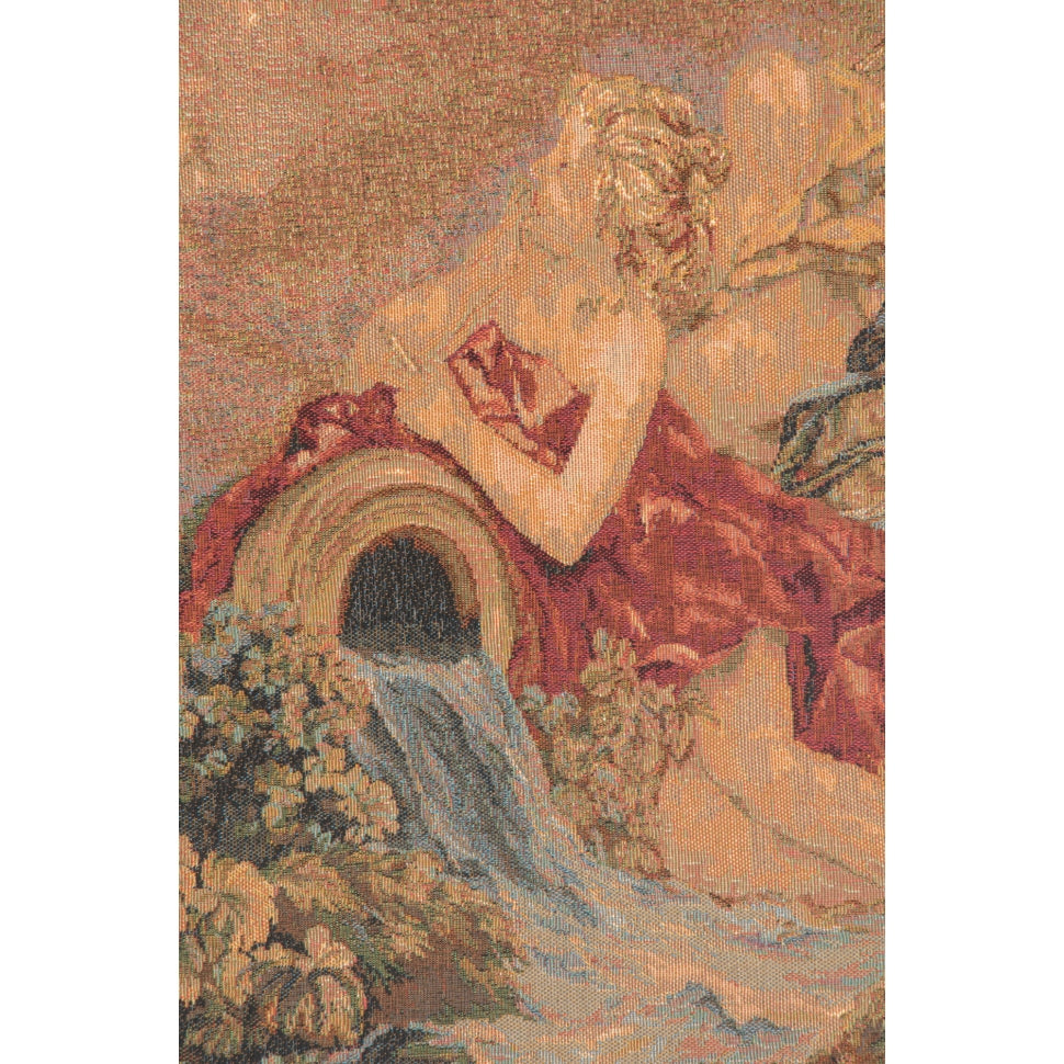 Beige Les Amours des Dieux French Wall Tapestry