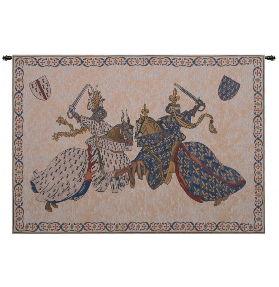 Tournament of Knights Roi Rene Wall Decor Tapestry