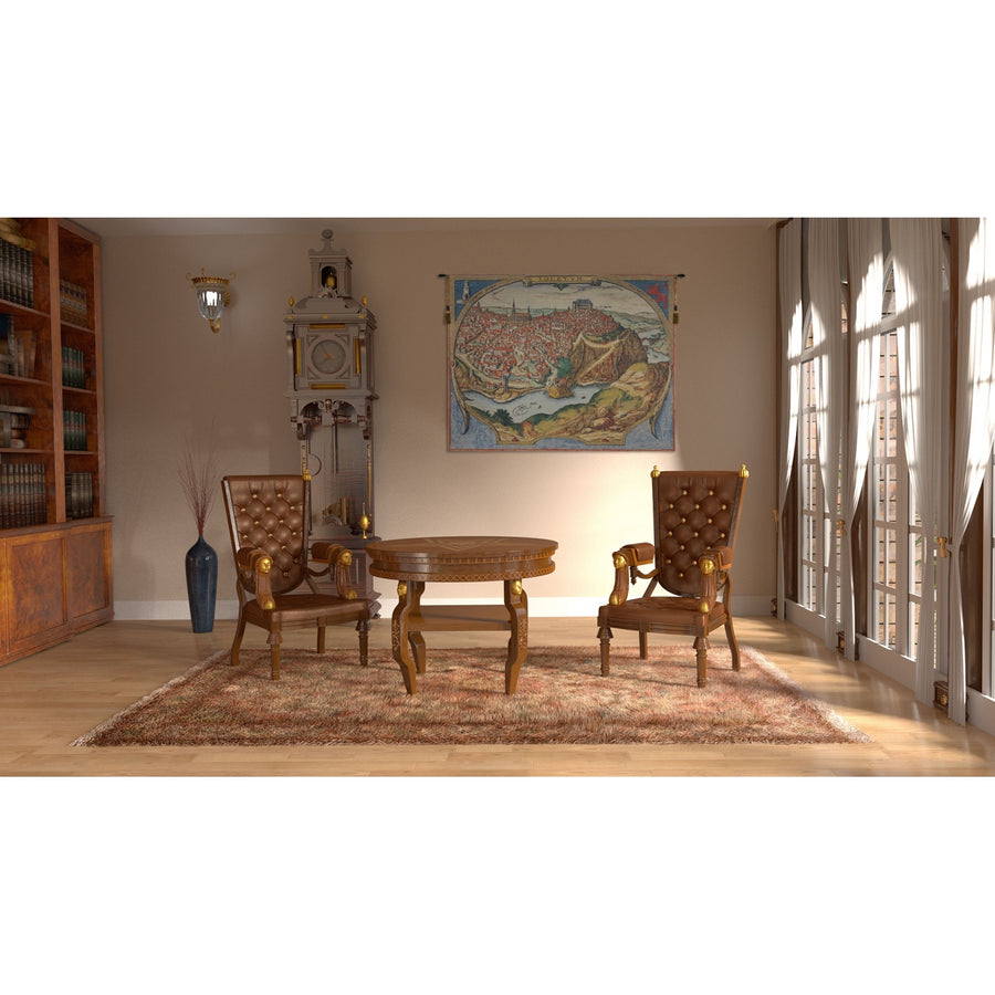 Toledo II European Hanging Wall Tapestry