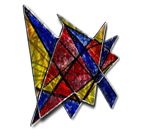 Acute Angles - Metal Wall Art Decor - Ash Carl Designs