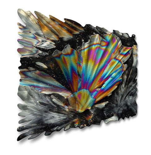 Cosmic Crystals - Metal Wall Art Decor - Ash Carl Designs