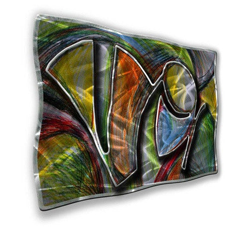 Mardi Gras - Metal Wall Art Decor - Ash Carl Designs