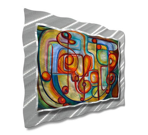 Modern Melody - Metal Wall Art Decor - Ash Carl Designs