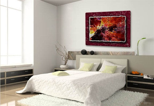 Magma - Metal Wall Art Decor - Ash Carl Designs