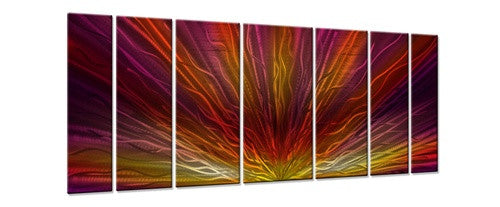 Warm Sunset - Metal Wall Art Decor - Ash Carl