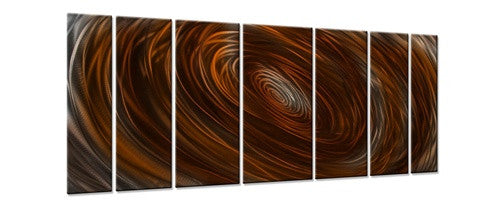 Abyss - Metal Wall Art Decor - Ash Carl