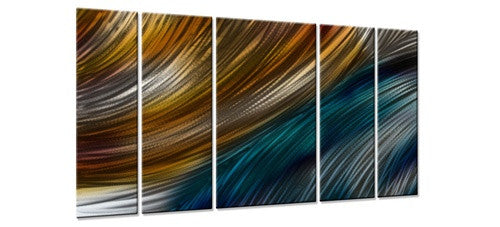 Where Land Meets Water II - Metal Wall Art Decor - Ash Carl
