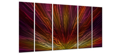 Warm Sunset II - Metal Wall Art Decor - Ash Carl
