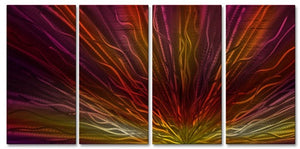 Warm Sunset III - Metal Wall Art Decor - Ash Carl