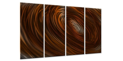 Abyss III - Metal Wall Art Decor - Ash Carl