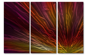 Warm Sunset IV - Metal Wall Art Decor - Ash Carl