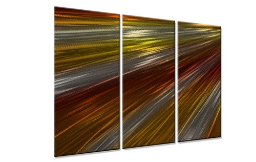 Warm Rays Of Light IV - Metal Wall Art Decor - Ash Carl