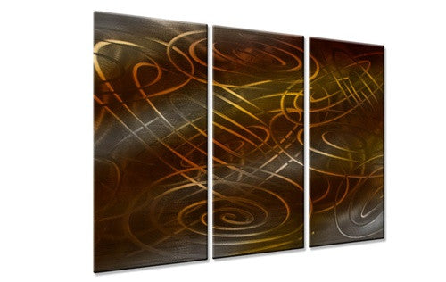Warm Conjunction IV - Metal Wall Art Decor - Ash Carl