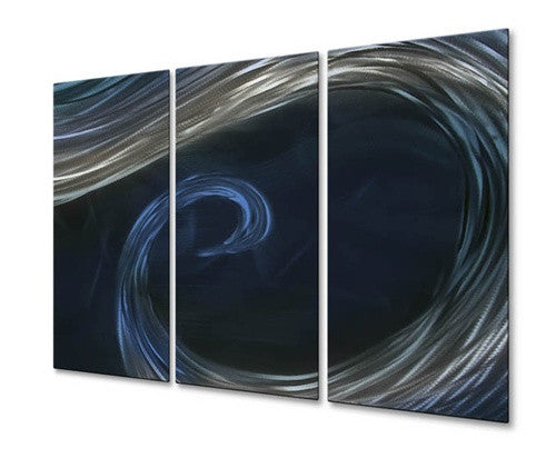 To The Blue Point IV - Metal Wall Art Decor - Ash Carl