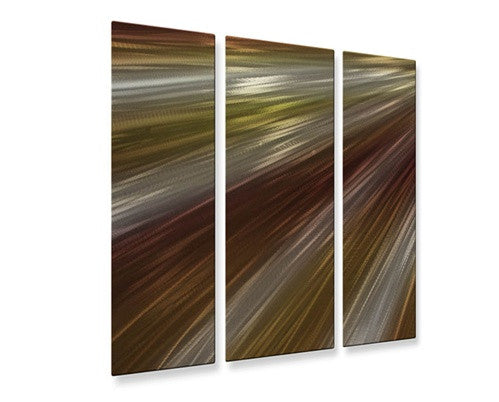 Warm Rays of Light V - Metal Wall Art Decor - Ash Carl