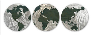 Globular Green - Metal Wall Art Decor - Ash Carl