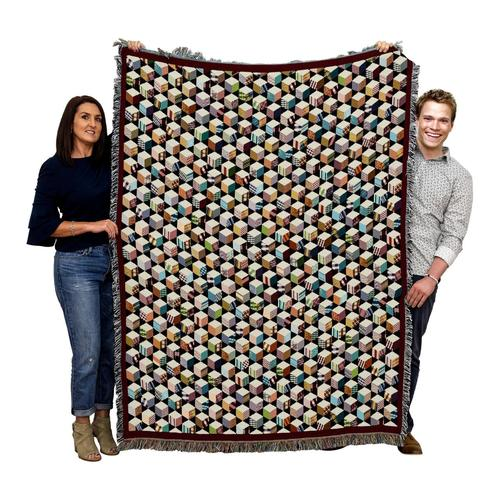 Autograph Quilt Country Woven Afghan