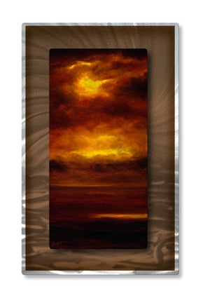 Cascade V - Metal Wall Art Decor - Keith Burnett