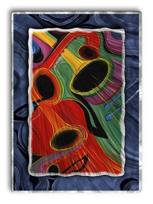 Rhythm Of Summer - Metal Wall Art Decor - Jerry Clovis