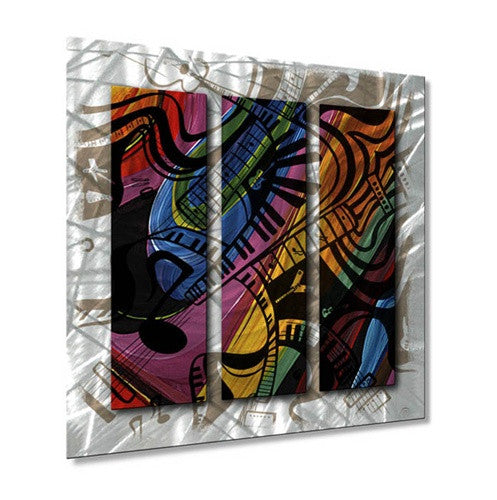 Guitar Crush - Metal Wall Art Decor - Jerry Clovis