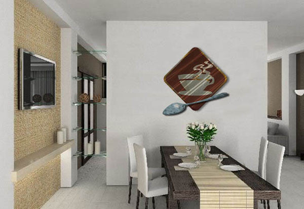 Cup of Joe Contemporary Modern Wall Art Sculpture