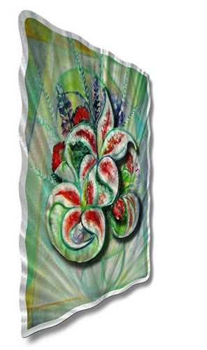 Bountiful Bouquet - Metal Wall Art Decor - Ash Carl Designs
