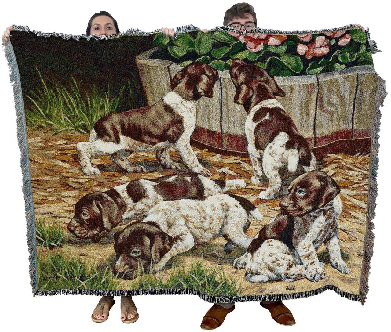 Brown Springer Spaniel Dog Cozy Textile