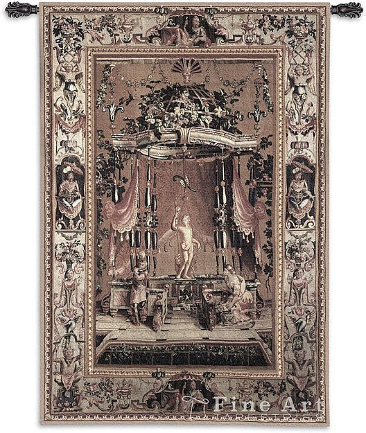 The Offering To Bacchus Wall Tapestry