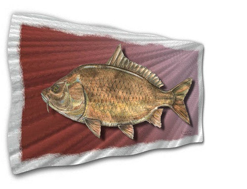 Common Carp - Contemporary Metal Wall Hanging - Jeff Currier