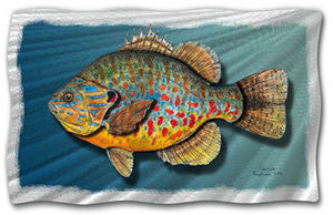 Pumpkin Seed Fish Contemporary Modern Wall Art