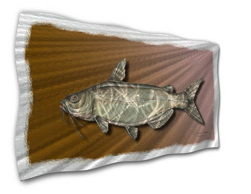Catfish - Contemporary Metal Wall Hanging - Jeff Currier