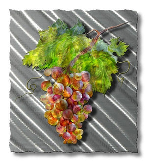 Grape Branch - Metal Wall Art Decor - Ash Carl Designs