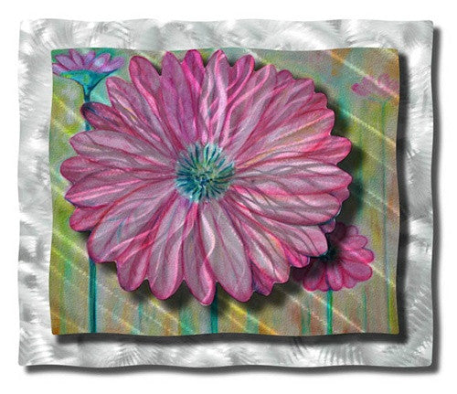 Zinnia - Metal Wall Art Decor - Ash Carl Designs