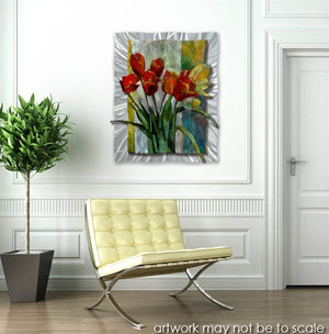 Bouquet For Mother Contemporary Modern Wall Art