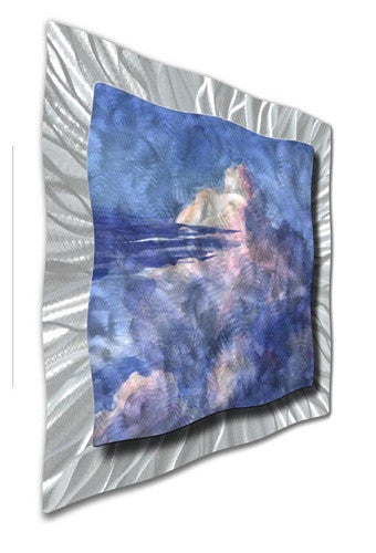 Clouds in the Sky - Metal Wall Art Decor - Ash Carl Designs